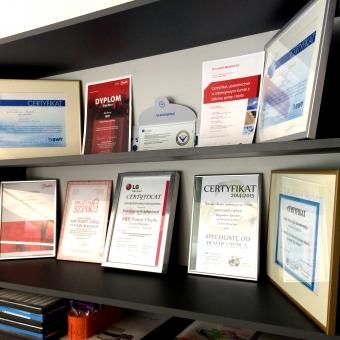 certyfikaty zaświadczenia Wrocław