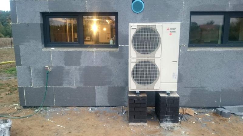 Powietrzna pompa ciepła w Środzie Śląskiej