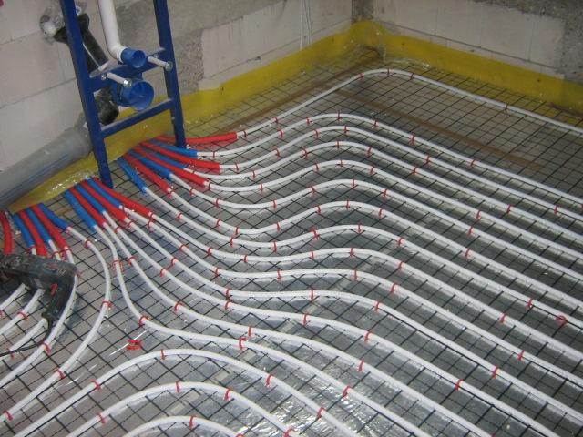 multi-instalacja - ogrzewanie odłogowe MIR Energia