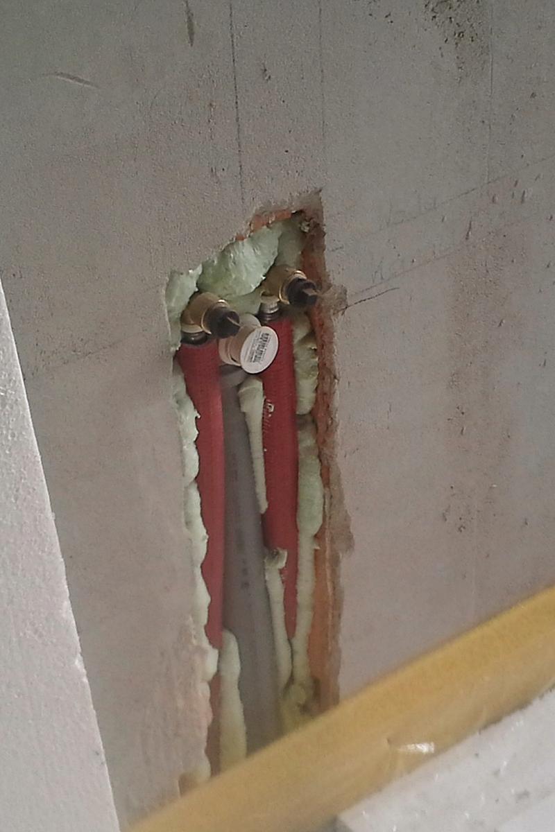 Pompa ciepła instalacja wod-kan
