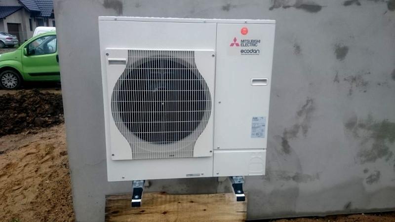 Montaż pompy ciepła MIR Energia