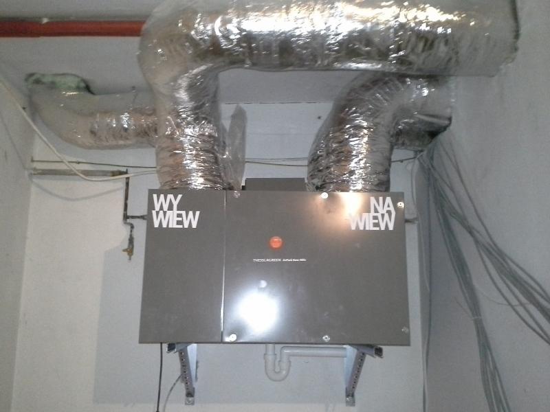 Modernizacja wentylacji MIR Energia